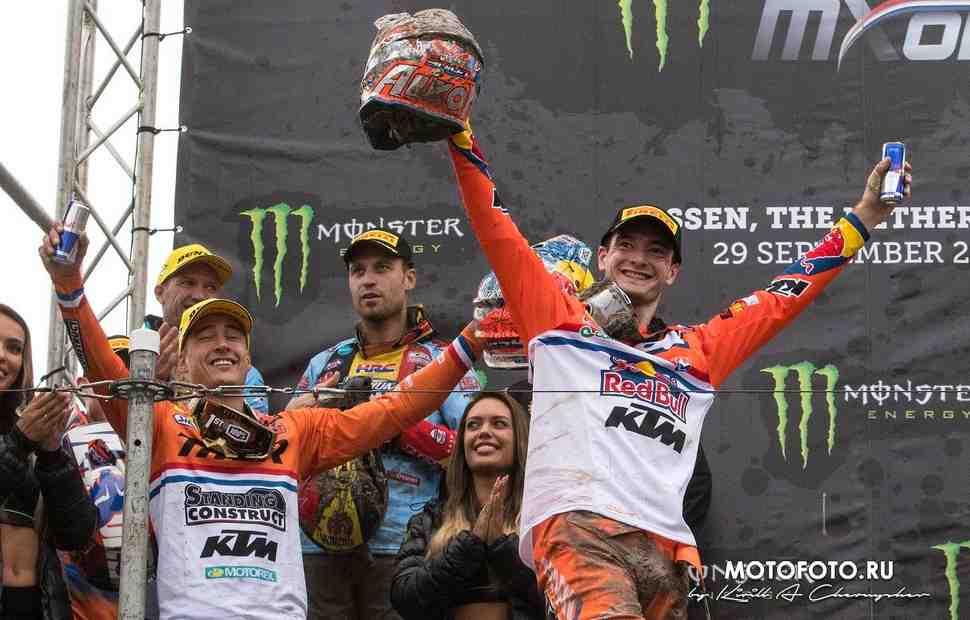 Интервью победителя MXoN-2019: Херлингс - Трасса в Ассене стала абсолютным сюрпризом!
