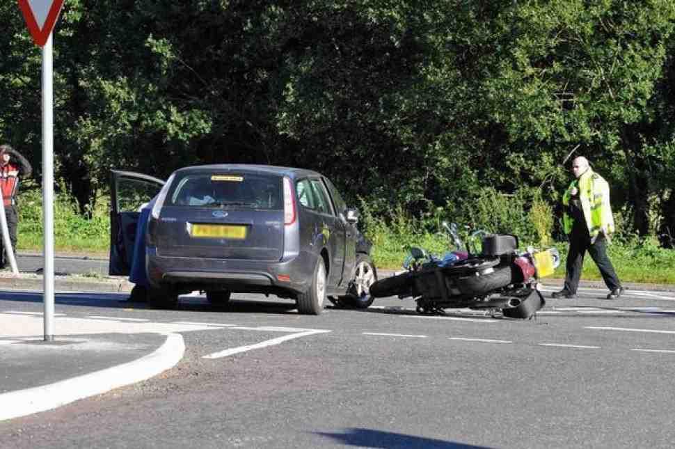 30 мотоциклистов травмируются в Англии каждый день