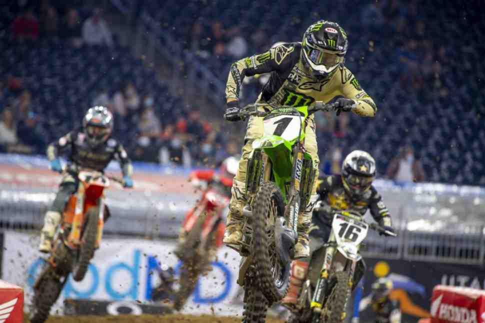 AMA Supercross: Видео - Лучшие моменты 4-го этапа 450SX - Indy 1