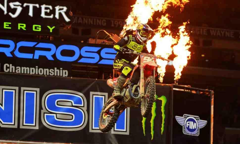 AMA Supercross: Результаты и отчет с 4-го этапа 450SX, Indianapolis 1