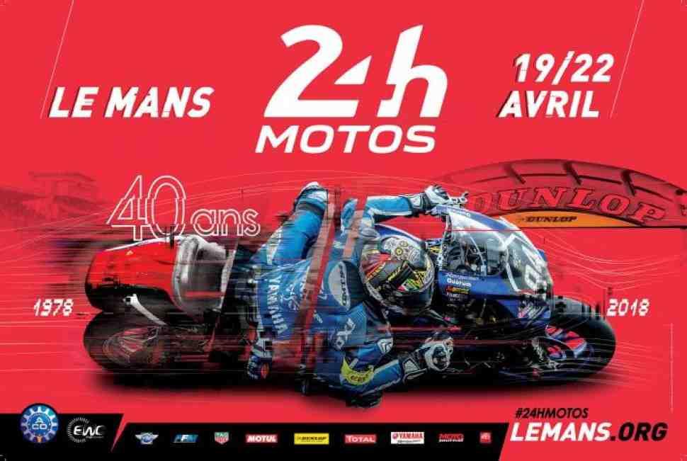 24 Heures Motos 2018: За победу в Ле-Мане 24 поборются 60 команд на мотоциклах 8 марок