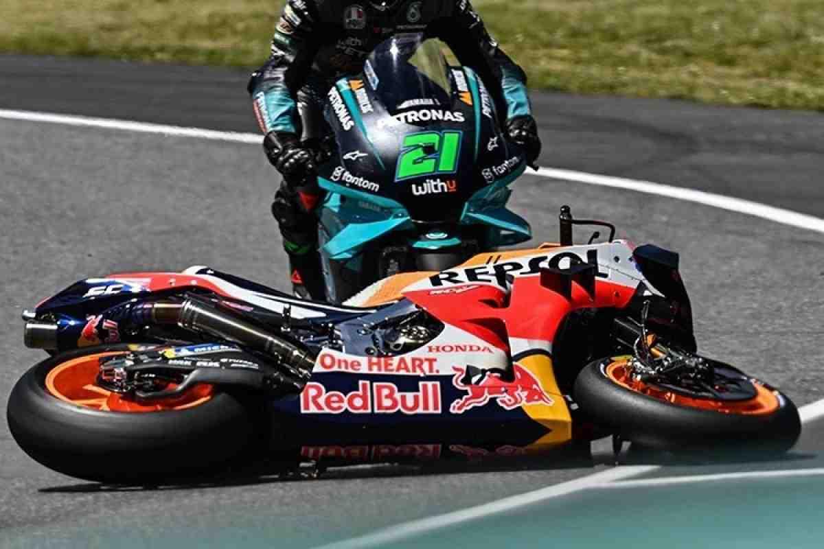 MotoGP: Марк Маркес признал ошибку на Гран-При Италии, она не связана с физическим состоянием