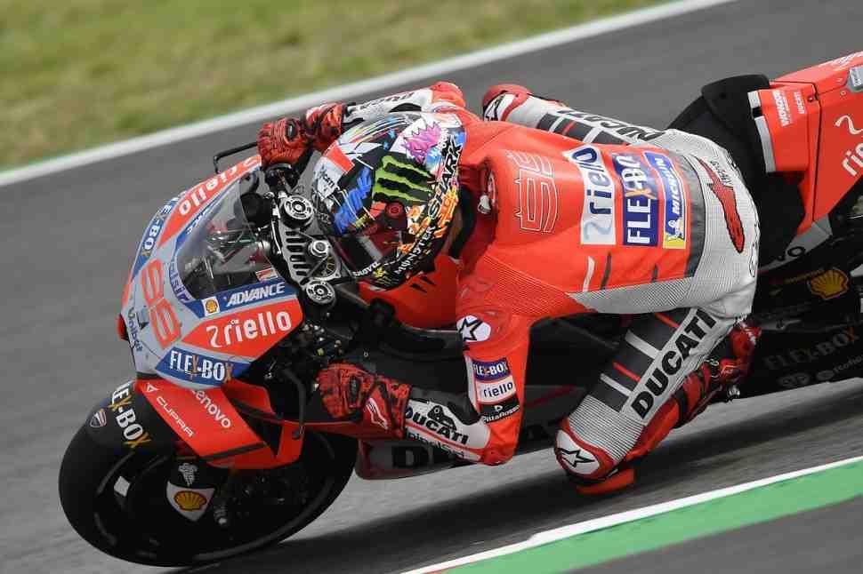 MotoGP: Лоренцо завершил тесты на Motorland Aragon внутри собственного рекорда