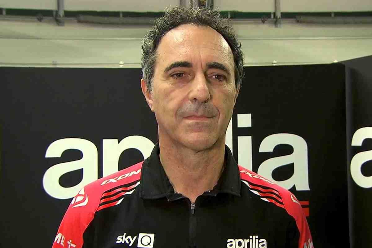 MotoGP: Романо Альбезиано - о первом дне тестов Aprilia с Виньялесом: Очень позитивный день!