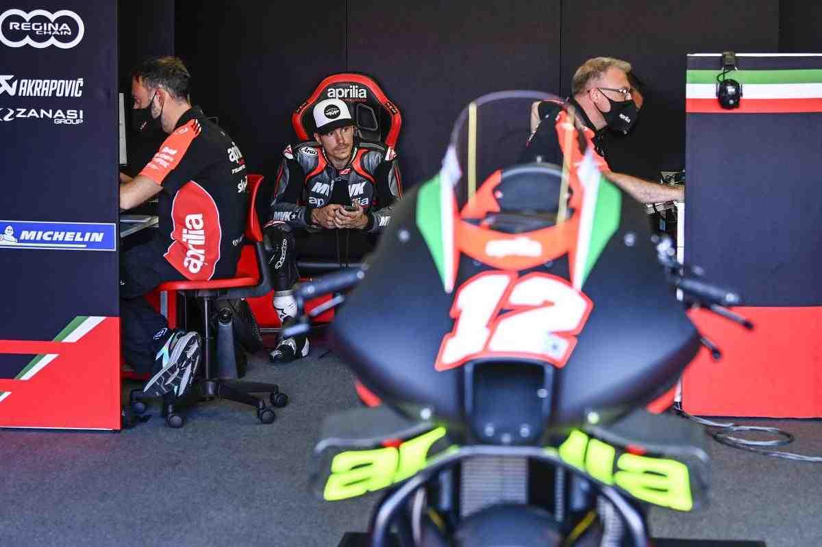 Новое приключение Маверика Виньялеса в MotoGP началось: первые фото с тестов Aprilia Racing