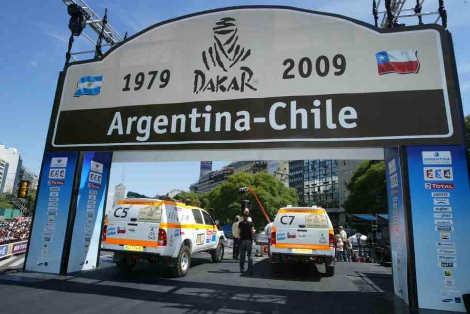 История: 10 лет назад «Дакар» перебрался в Южную Америку