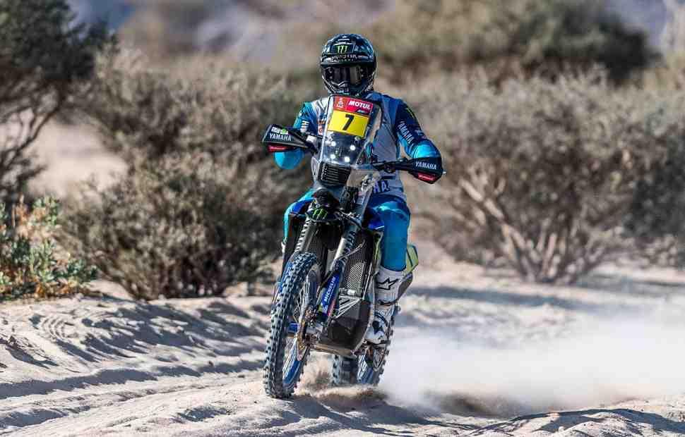 Первые потери: пилот заводской команды Yamaha Эндрю Шорт покинул Дакар 2021