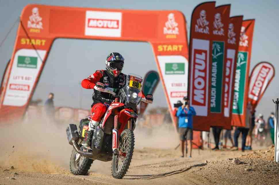 Тяжелое начало ралли Дакар 2021: СУ1 в комментариях - Monster Energy Honda Team