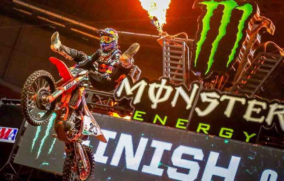 AMA Supercross: видео - лучшие моменты Triple Crown в Атланте, 450SX
