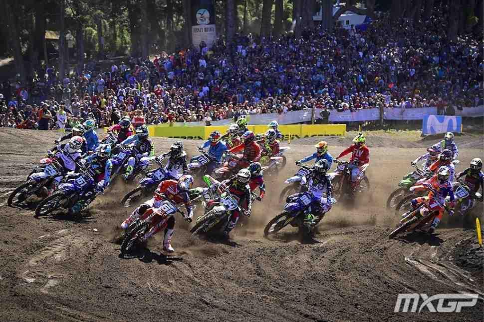 Мотокросс MX2: Йонасс выигрывает 1-й заезд Гран-При Патагонии-Аргентины