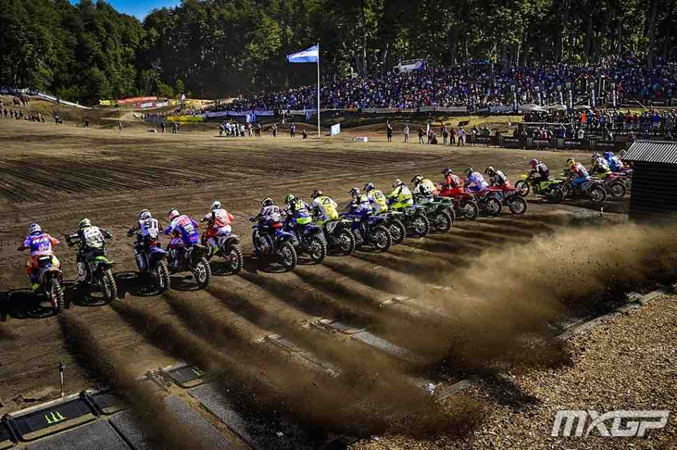 Мотокросс: видео квалификаций Гран-При Патагонии-Аргентины MXGP/MX2
