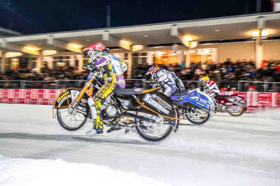 Тренд неизменен: Колтаков вчистую выигрывает 1й день FIM Ice Speedway Gladiators в Берлине