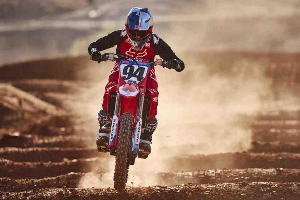 Мотокросс/Суперкросс: контракт Кена Рокцена с Honda продлен на 3 года