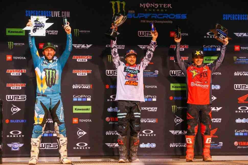AMA Supercross: результаты 12-го этапа чемпионата Мира/AMA