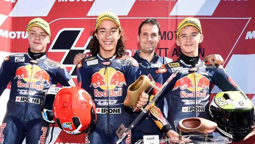 FIM открыла путь в Мото Гран-При Moto3 для 15-летних юниоров - через Red Bull Rookies Cup