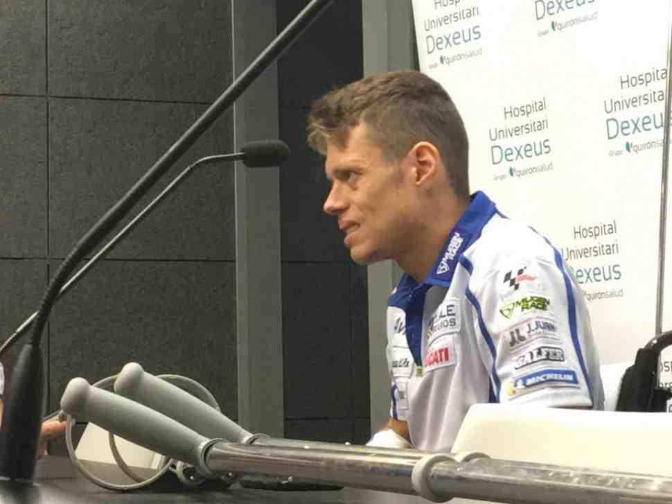 MotoGP: Тито Рабат в подробностях рассказал о деталях инцидента в Сильверстоуне