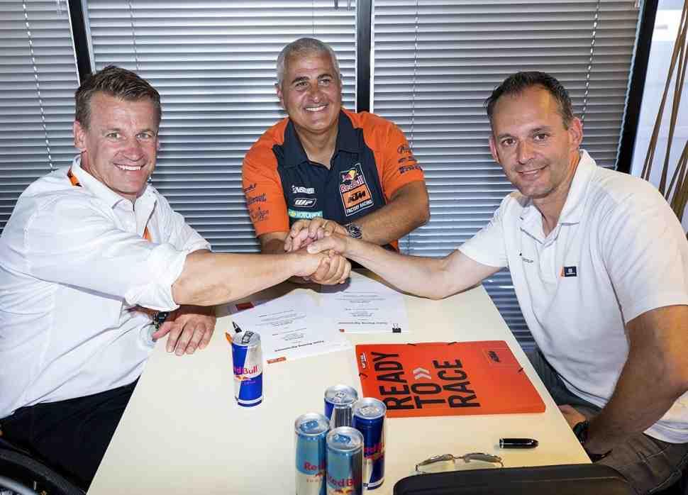 Мотокросс MXGP: KTM и De Carli продолжат сотрудничество до 2022 года