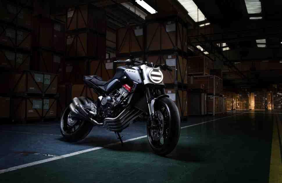 Honda перенесла показ концепта Neo Sports Cafe CB650R с INTERMOT-2018 на Парижский Mondial