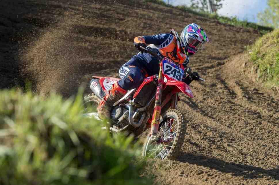 Мотокросс: Тим Гайзер - победитель Гран-При Европы MXGP