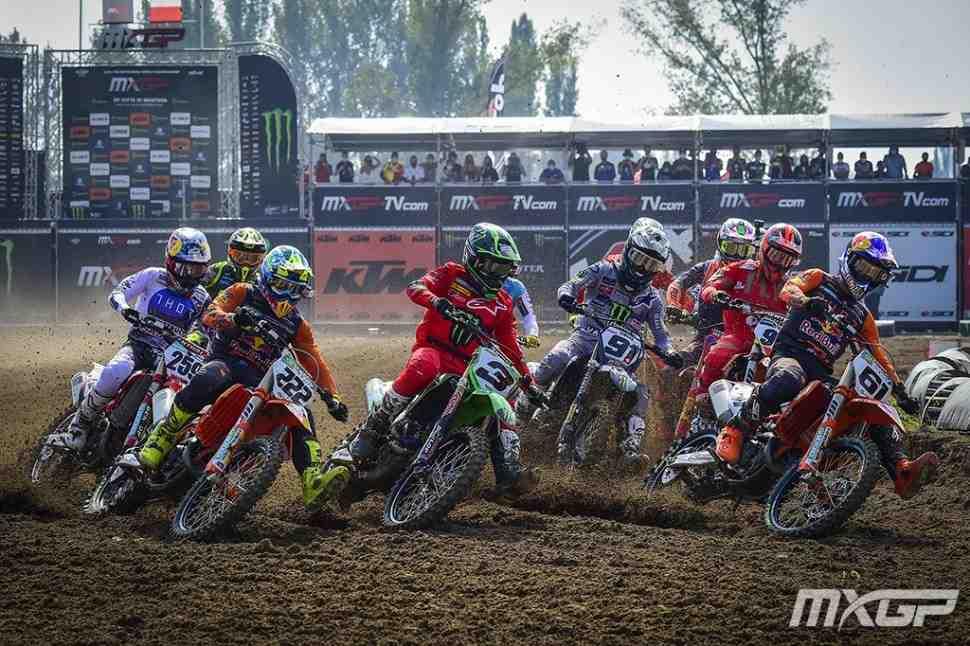 Мотокросс: видео Гран-При Европы MXGP/MX2