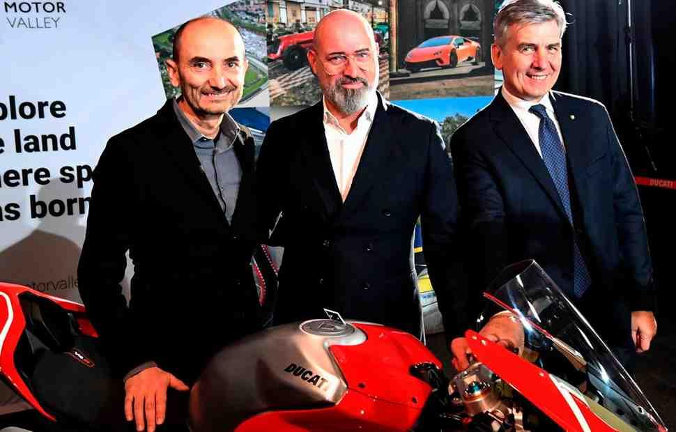 Ducati ���������� ����- � ������������ ������-������� � ���������� ����� Motor Valley