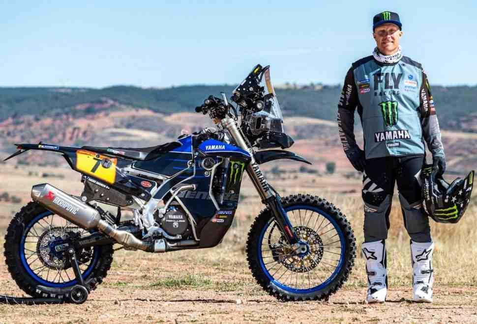 Дакар 2021: Эндрю Шорт - мотоцикл остановился практически сразу после дозаправки...