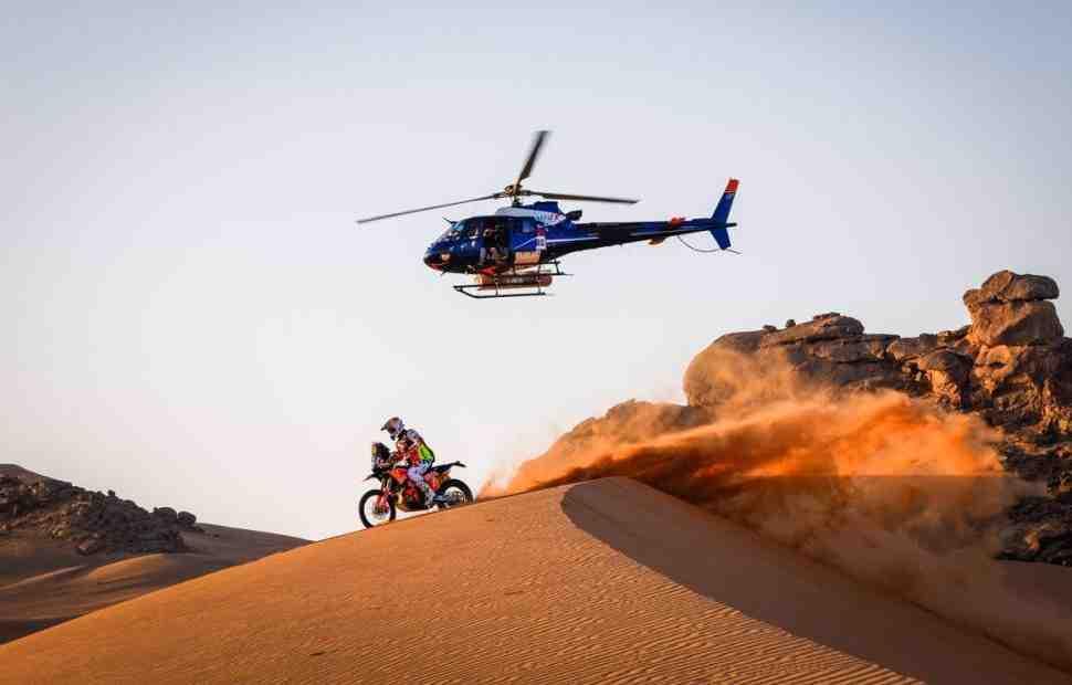 Дакар 2021: Маттиас Валькнер рассказал о своих приключениях - Все поглотил песок!..