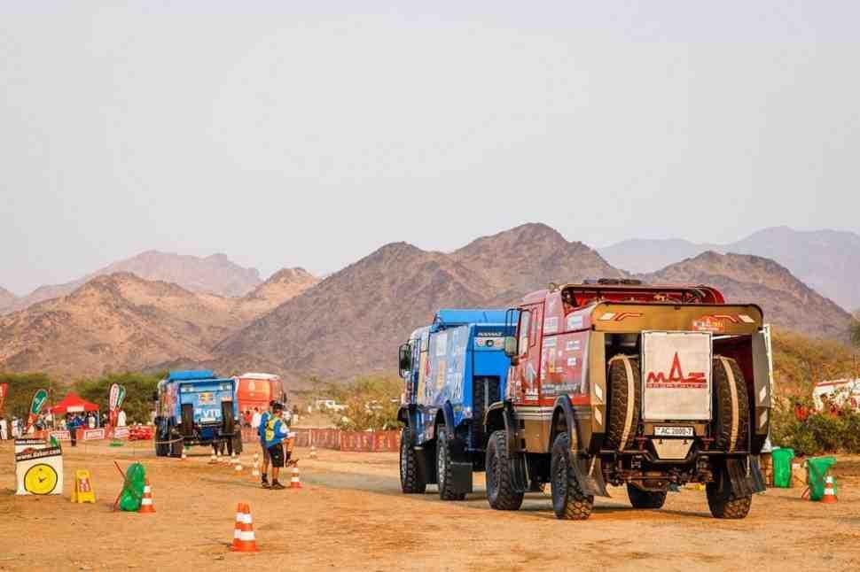 МАЗ и два КАМАЗ-а возглавили протокол третьего этапа ралли Дакар 2021