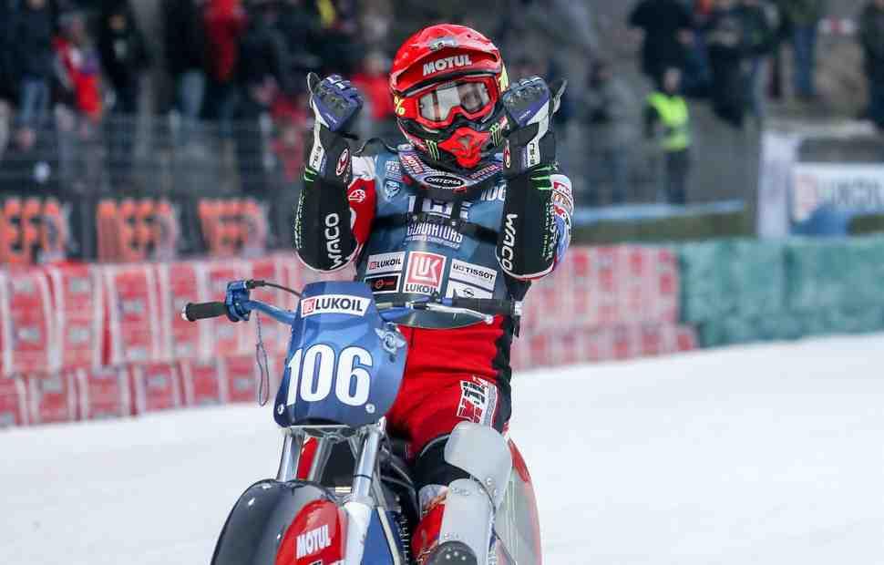 Чемпионат мира по мотогонкам на льду: Тотальное превосходство