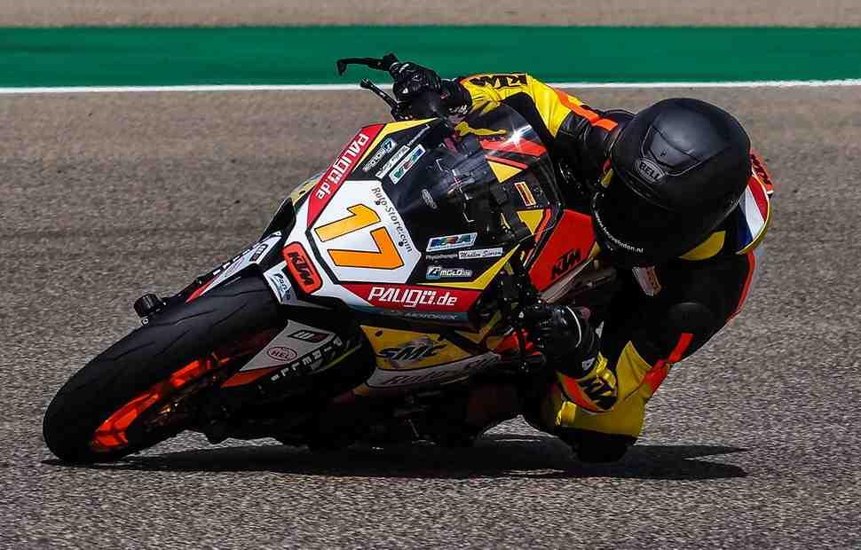 KTM RC390 ������� ������ � ����� ������� ������������ � ���������� World Supersport 300