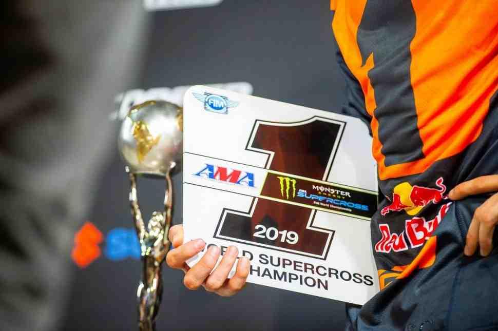 Купер Вебб и KTM - чемпион Мира/AMA по суперкроссу 450SX 2019! Итоговые результаты