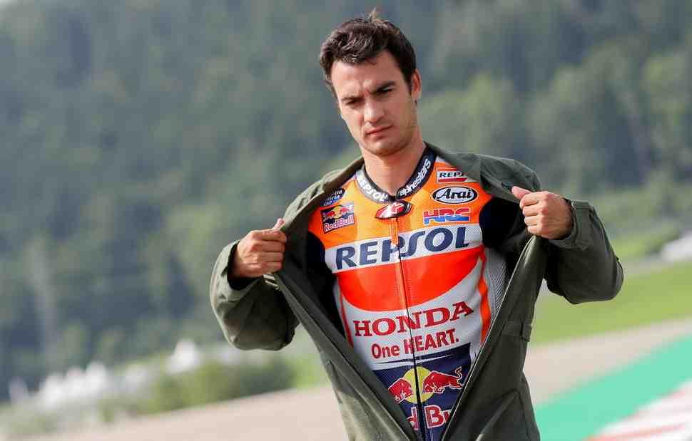 Дани Педроса завершает работу с Honda в MotoGP