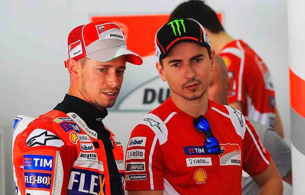 Кейси Стоунер: Лоренцо выиграет больше гонок MotoGP для Ducati, а затем...