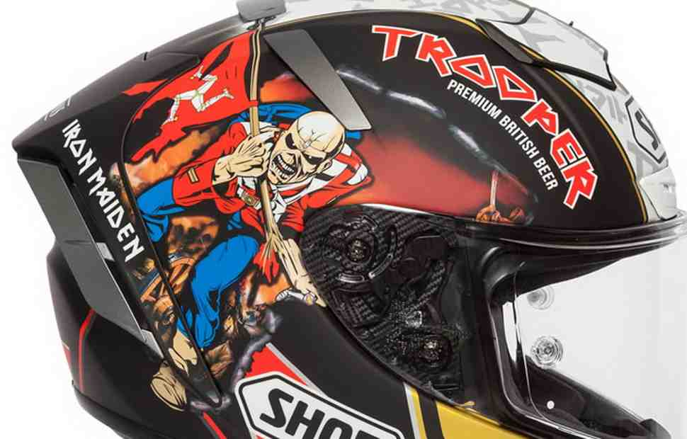 В британском стиле: SHOEI X-SPIRIT 3 - Hickman Trooper 2018 Replica