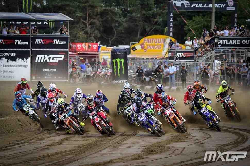 Мотокросс: видео 15 этапа чемпионата Мира MXGP/MX2, Гран-При Бельгии