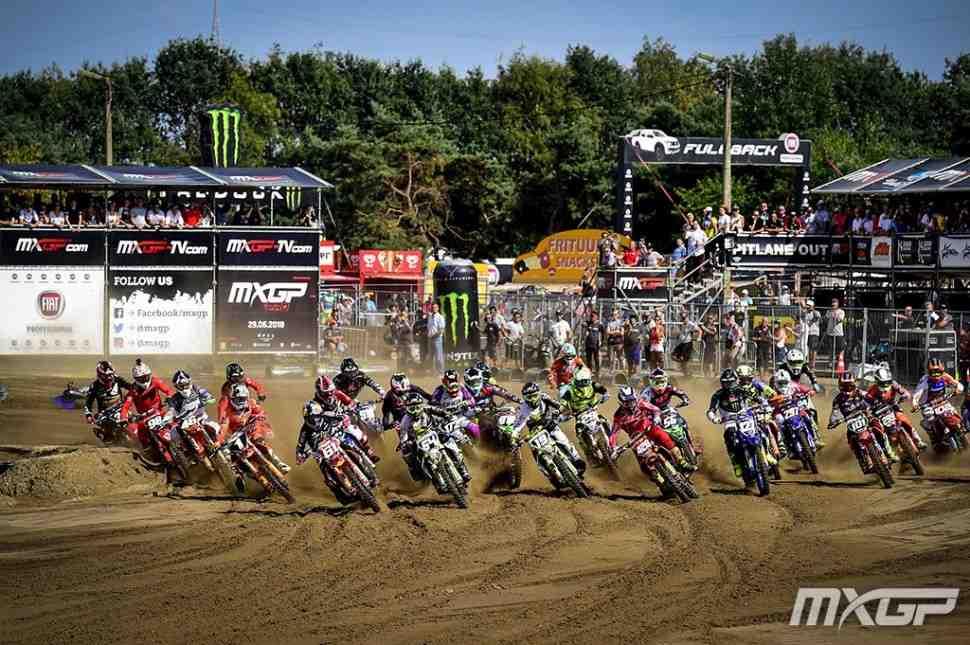 Мотокросс: результаты Гран-При Бельгии MXGP/MX2