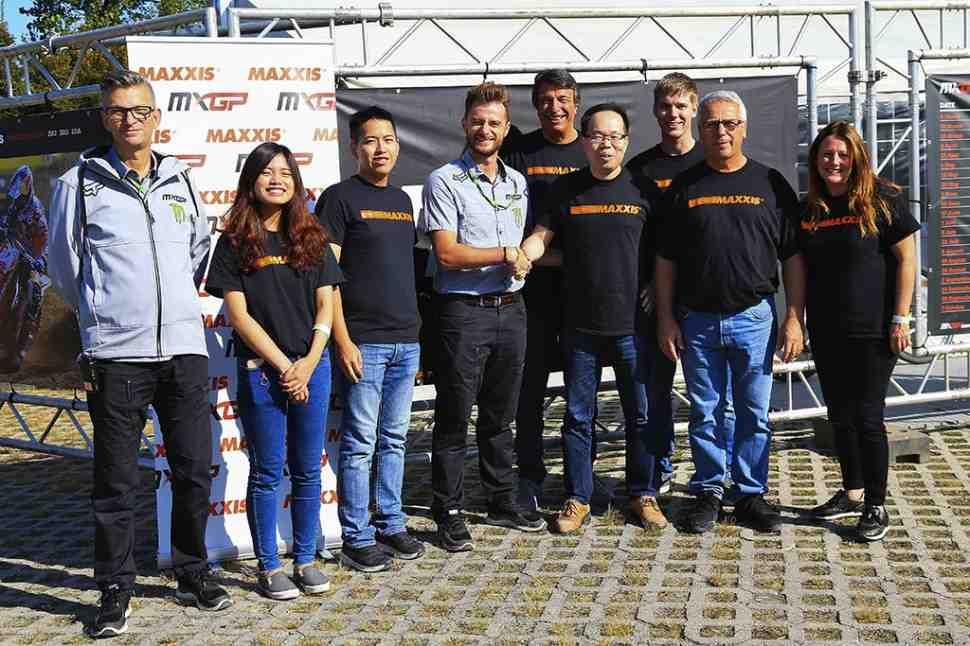 Мотокросс MXGP: Maxxis будет официальным поставщиком шин чемпионата Мира 2019-2021г.