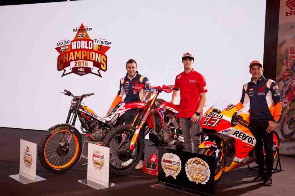 Мотокросс: у Тима Гайзера новый напарник в MXGP - Honda представила гонщиков сезона-2020