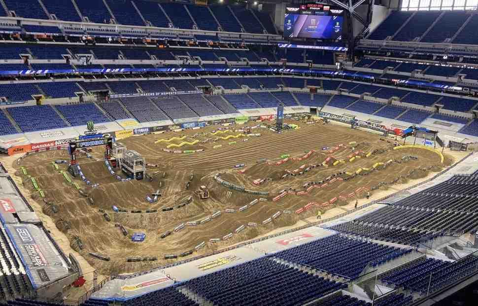 Новый день - новый Индианаполис: анимация трассы для 6-го этапа AMA Supercross Indy 3