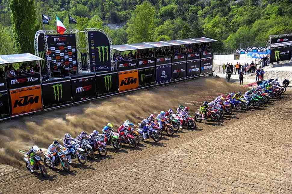 Мотокросс MXGP/MX2: расписание и онлайн хронометраж Гран-При Трентино (Италии)