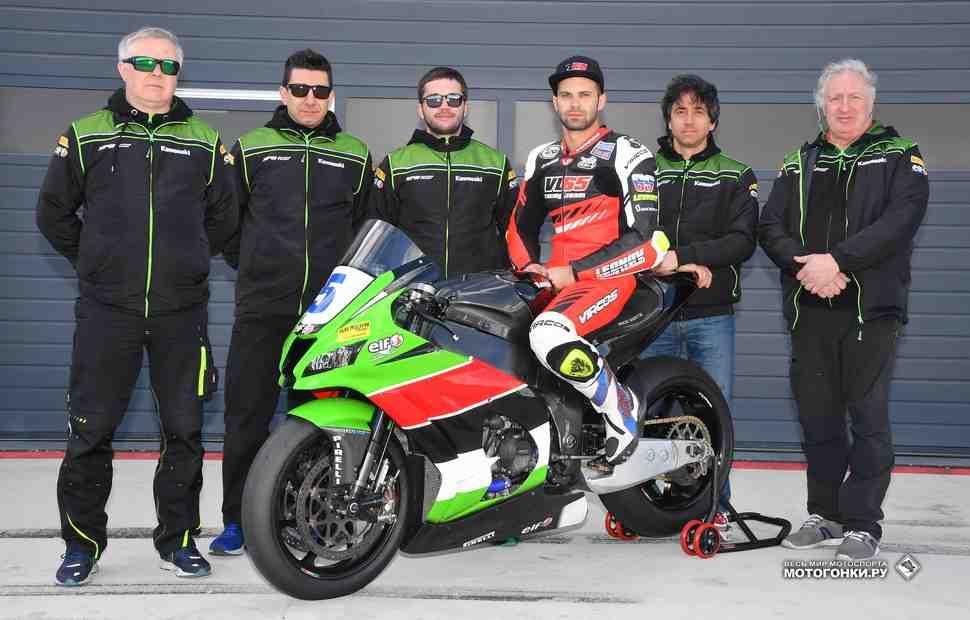SPB Racing Team и Владимир Леонов в World Superbike