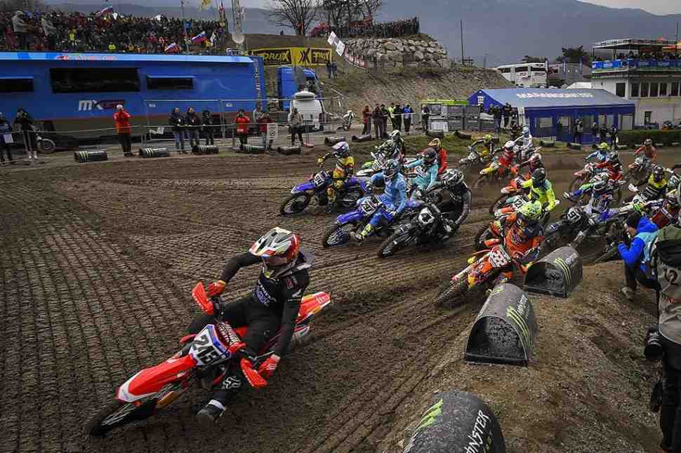 Мотокросс: видео Гран-При Трентино MXGP/MX2 - квалификации