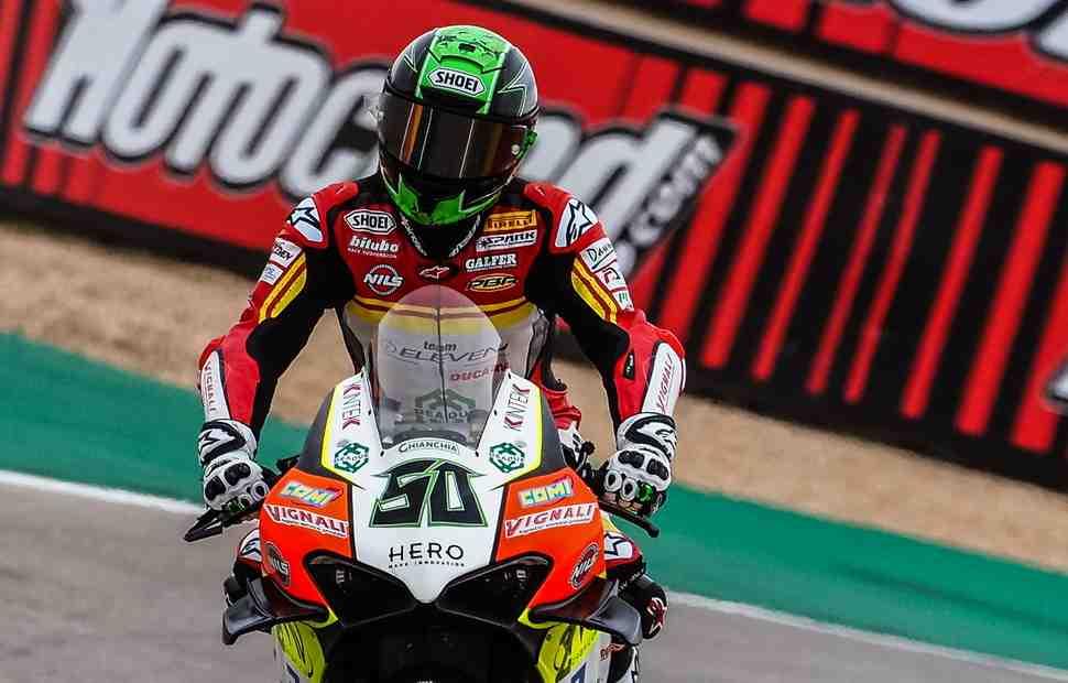 WSBK: �������� ���� � ������� ���� ���� ���������� Ducati - �������� ������� � ����� FP3