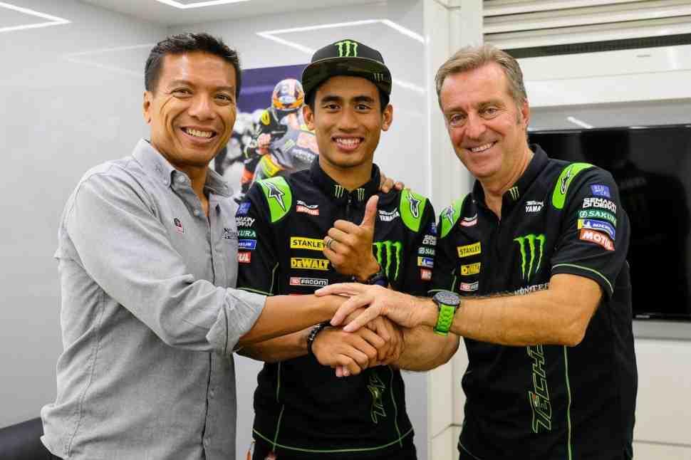 Хафиж Сярин продолжит работу в MotoGP с Tech 3 KTM