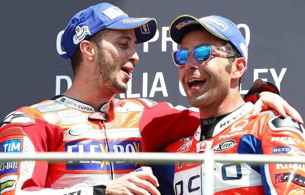 Официально: Данило Петруччи в Ducati Factory MotoGP в 2019 году