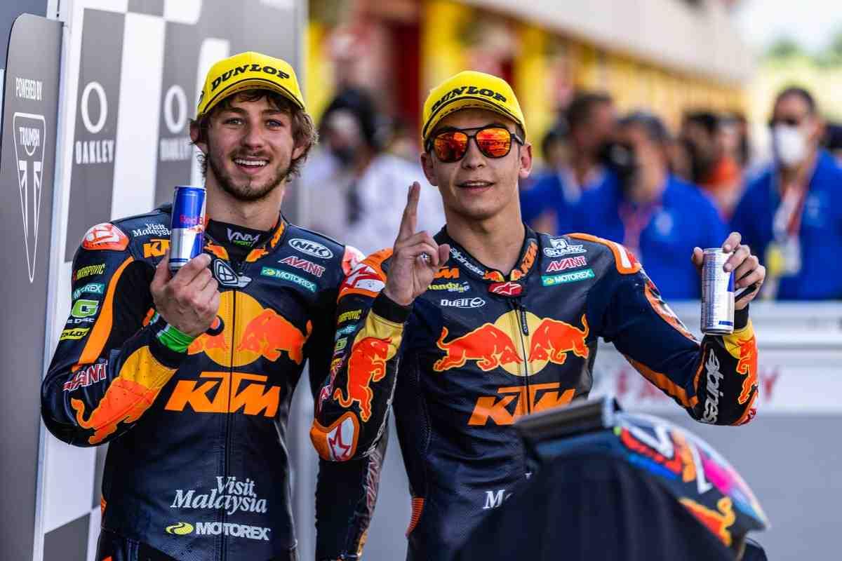 Moto2 - Гран-При Каталонии: Гарднер и Фернандес принесли KTM Ajo Racing еще один двойной подиум