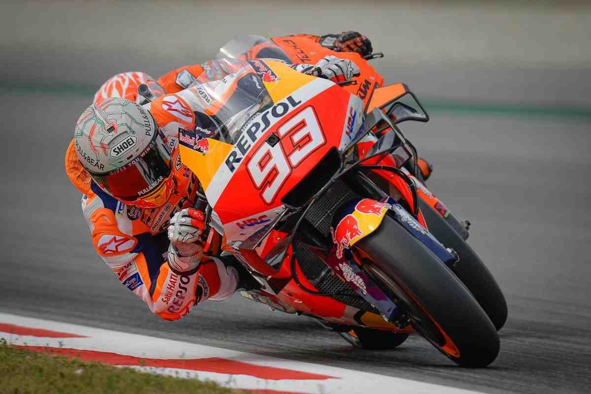 MotoGP: Марк Маркес - Три падения, а он... счастлив! Полная версия брифинга Repsol Honda