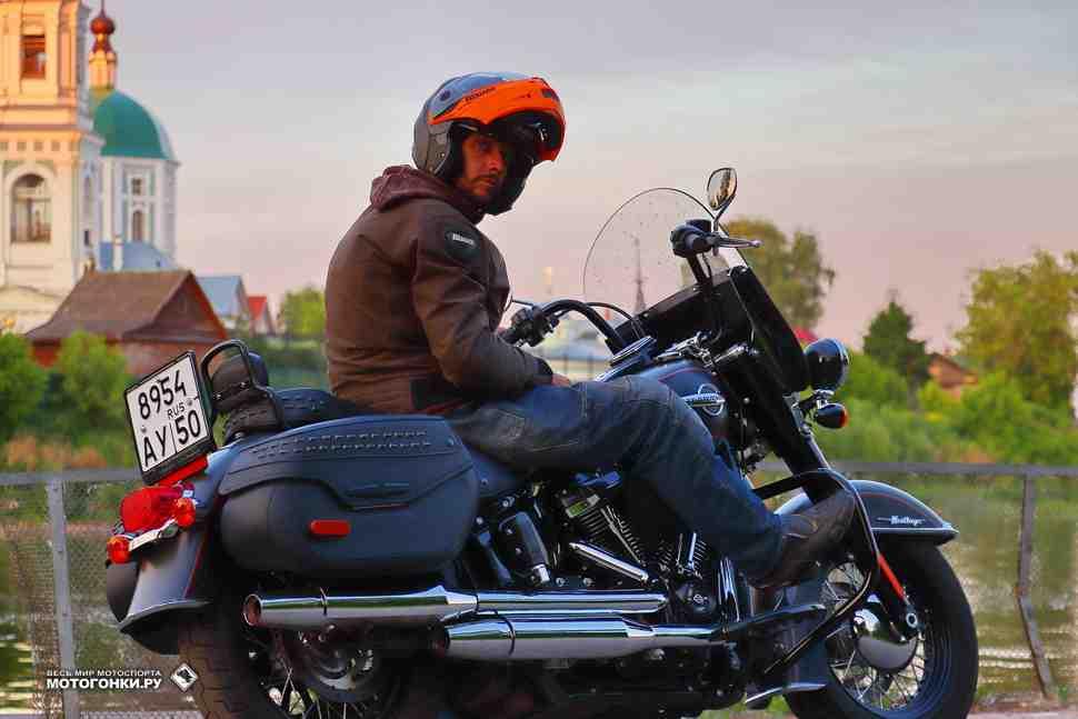Тест-драйв: Harley Davidson Heritage (2018) – Инструкция по выпуску пара