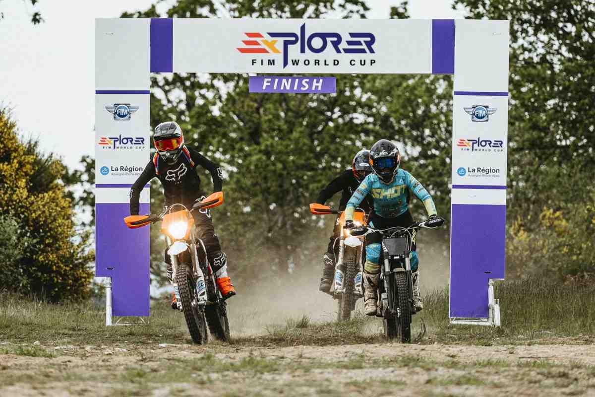 Гоночная серия для электрических мотоциклов эндуро - FIM E-Xplorer World Cup стартует в 2022