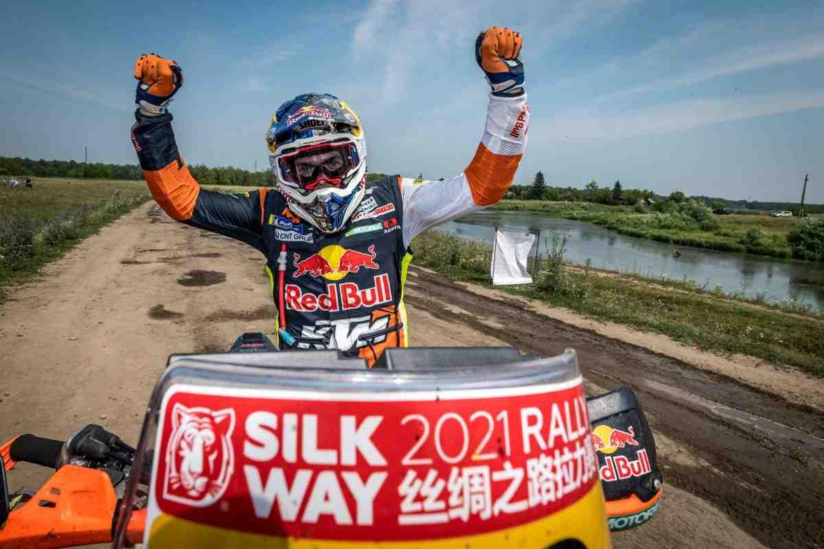 SilkwayRally2021: Маттиас Валькнер и Red Bull KTM Factory Racing выиграли ралли «Шёлковый путь»